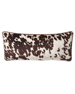French Laundry Home Lara Cowhide-Print Pillow