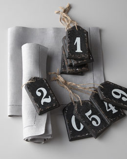 Park Hill Collections Wooden Number Tags