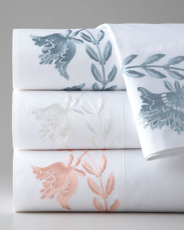 Queen Embroidered Sheet Set