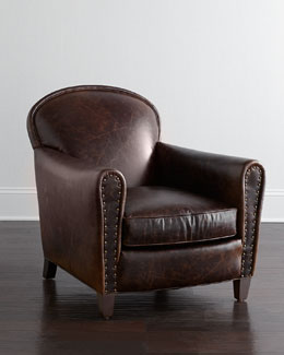 Lee Industries Maverick Leather Chair