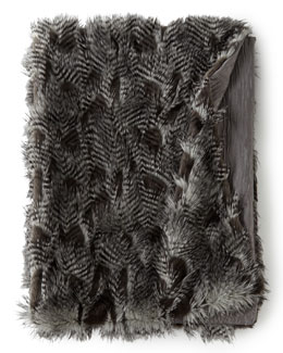 Anastasia Faux-Fur Throw, 50
