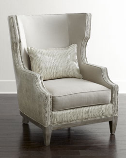 Massoud Jazzy Wing Chair