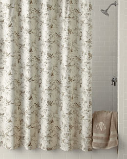 Legacy Home Aviary Toile Shower Curtain
