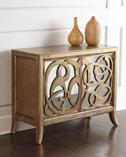 Oleda Mirrored Chest