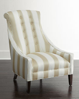 Candice Olson Lindy Stripe Chair