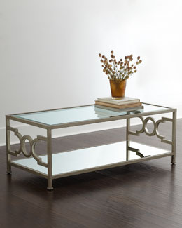 Candice Olson Hendrix Mirrored Coffee Table