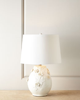 Eire Floral Lamp
