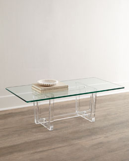 Aldon Acrylic Coffee Table
