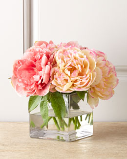 John-Richard Collection Petite Peony Faux Floral