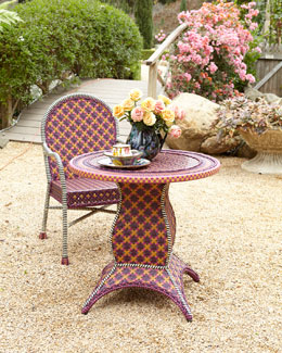 MacKenzie-Childs Sunset Outdoor Cafe Table