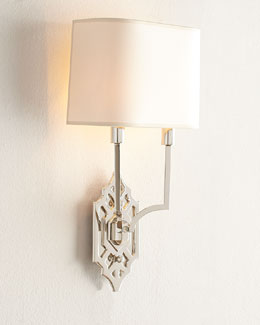 Visual Comfort Silhouette Fretwork Wall Light
