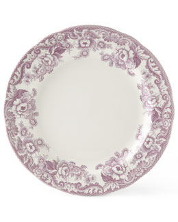 Four Delamere Bouquet Dinner Plates
