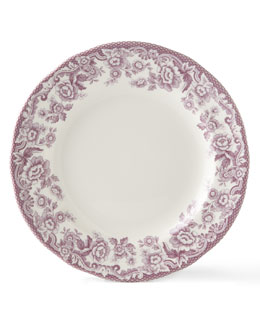 Four Delamere Bouquet Salad Plates