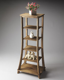 Tower Curio/Etagere