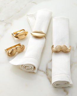 Jonathan Adler Mr. & Mrs. Muse Napkin Rings, Set of Four