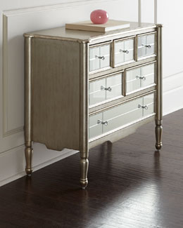 Macy Mirrored Chest