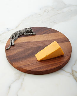 Leopard Cheese Board