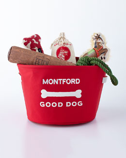 Personalized Holiday Toy Bin