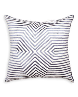 Stella Satin-Stitch Pillow
