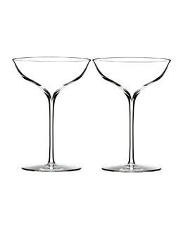 Elegance Champagne Coupe, Set of 2