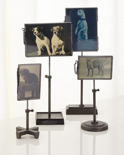 Photo Holders, 4-Piece Set