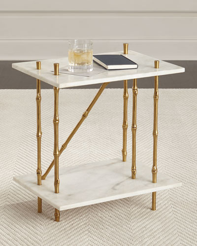 Bruner Marble Side Table