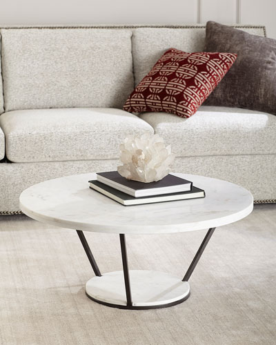 Vice Marble Coffee Table