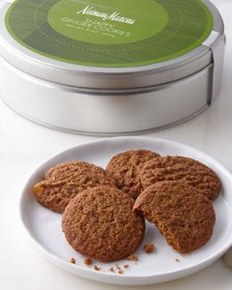 NM EXCLUSIVE Snappy Ginger Cookies