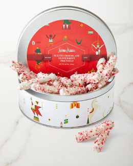 NM EXCLUSIVE White-Chocolate Peppermint Pretzels