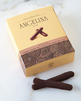 Angelina Paris Chocolate-Coated Candied Orange Peel