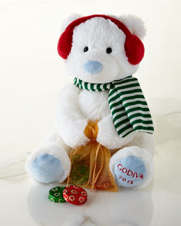 Godiva Godiva Plush Holiday Bear