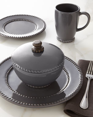 GG Collection Gray Livingstone Dinnerware