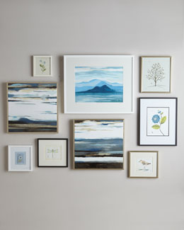 Botanical Prints & Abstract Giclees Wall Gallery