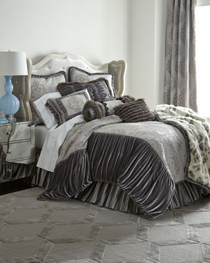 Dian Austin Couture Home Venetian Glass Bedding