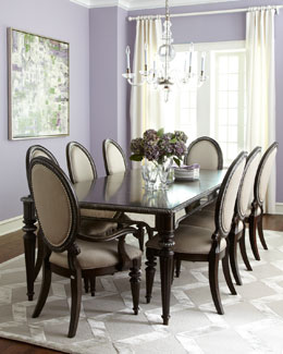 Ava Mirrored Dining Room Furniture