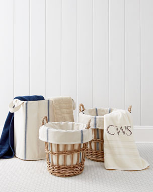 French Laundry Home Bryn Laundry Baskets & Tote