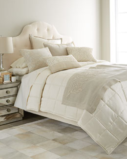 Bandhini Embroidered Vine Bedding