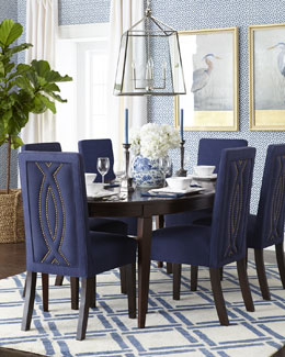 Haute House Allerton Dining Table & Nantucket Dining Chair