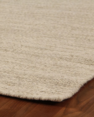 Exquisite Rugs Heathered Flatweave Rug