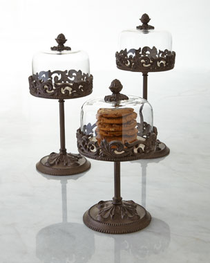 GG Collection Acanthus Scroll Dessert Pedestal