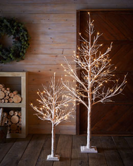 White LED Trees