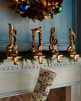 Music Note Christmas Stocking Hooks