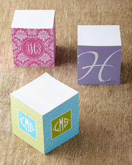 Personalized Memo Cubes