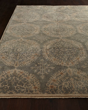 Exquisite Rugs Silver Crystal Rug