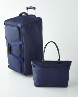 Navy Luggage