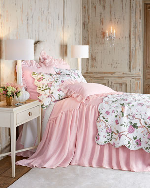 Pine Cone Hill Pink Savannah & Ceylon Bedding