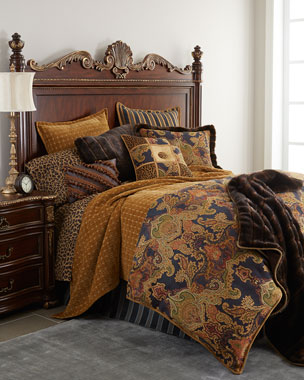 Dian Austin Couture Home Midnight Blue Bedding