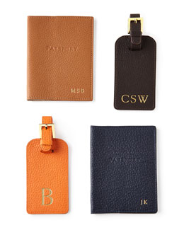 Personalized Luggage Tag & Passport Case