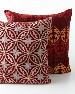 Sabira Luxe Lodge Pillows & Throw