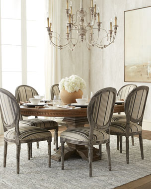 Cartwright Dining Table & Fanelli Dining Chair